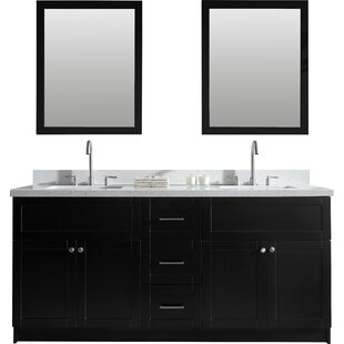 Truesdale 73 Double Bathroom Vanity Set by Winston Porter