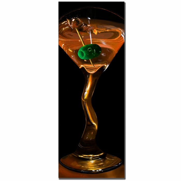 'Goldtini' by Roderick Stevens Photographic Print on Wrapped Canvas