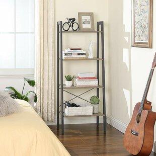 Review Dimaggio Ladder Bookcase