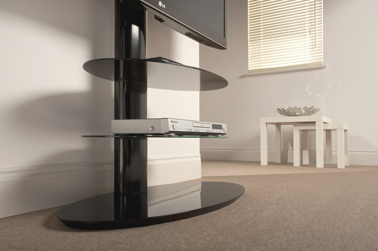 techlink tv regal strata f r tvs bis zu 55 bewertungen. Black Bedroom Furniture Sets. Home Design Ideas