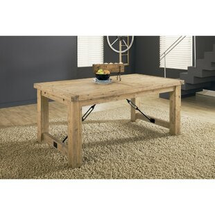 Mexborough Acacia Solid Wood Dining Table..
