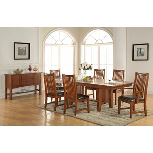 Fort Kent Extendable Dining Table by Loon Peak