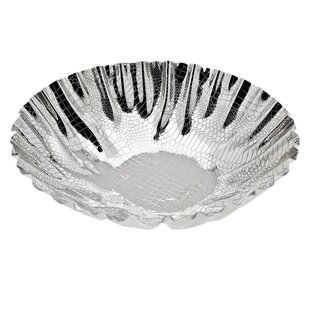 Croco Scalloped Fruit Bowl