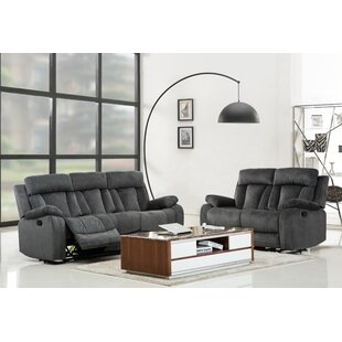 Reitz Reclining 2 Piece Living Room Set (Set of 2) by Red Barrel Studio