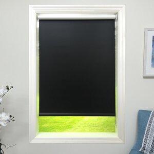 Blackout Black Roller Shade