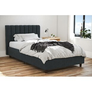 Brittany Upholstered Platform Bed
