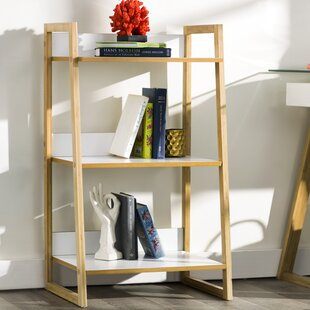 Affordable Alexandria 3 Tier Ladder Bookcase by Zipcode Design