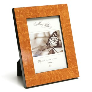 orange picture frames you ll love wayfair