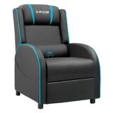 Homall Reclining Ergonomic Faux Leather PC & Racing Game Chair with Footrest