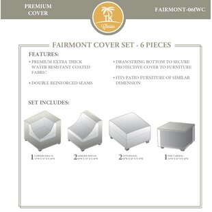 6 Piece Waterproof Canvas Cover Set