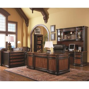 Maribeth 4 Piece Office Set with Hutch