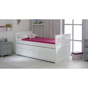 Captains Single Bed Frame With Trundle And Storage by Just Kids Looking for