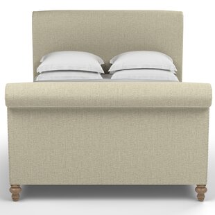 Audley Scroll Upholstered Sleigh Bed By Canora Grey