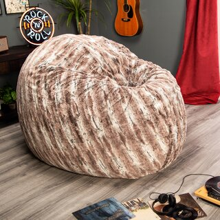 "Cocoon 20"" H Bean Bag Chair by Latitude Run SKU:DE470866 Check Price"