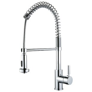 Review Pull Out Single Handle Kitchen Faucet by Y Decor