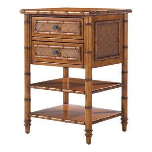 Island Estate 2 Drawer Nightstand
