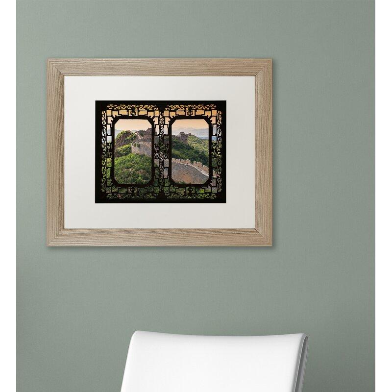 Trademark Art Window Wall V By Philippe Hugonnard Framed Photographic Print Wayfair