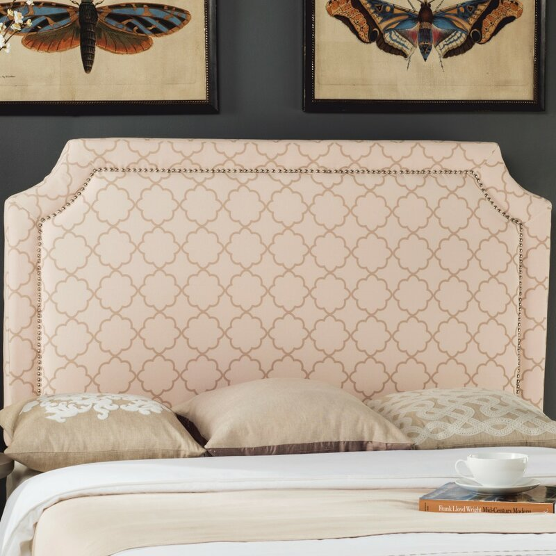 Darby Home Co Wellsboro Queen Upholstered Panel Headboard Wayfair