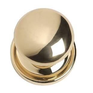 Trad Rose Mushroom Knob by BRASS Accents