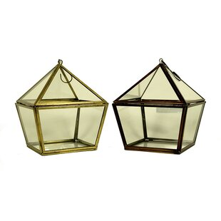 Hanging Lantern (Set of 2) by Wrought Studio