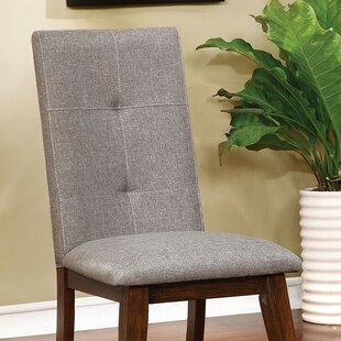 Gracie Oaks Reynolds Upholstered Dining Chair (Set of 2)