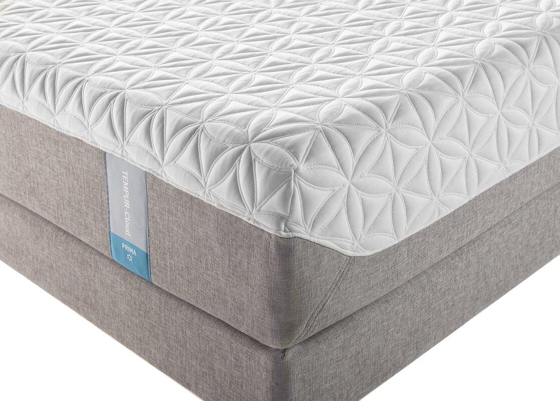 tempur cloud   prima 10   medium firm memory foam mattress tempur pedic tempur cloud   prima 10   medium firm memory foam      rh   wayfair
