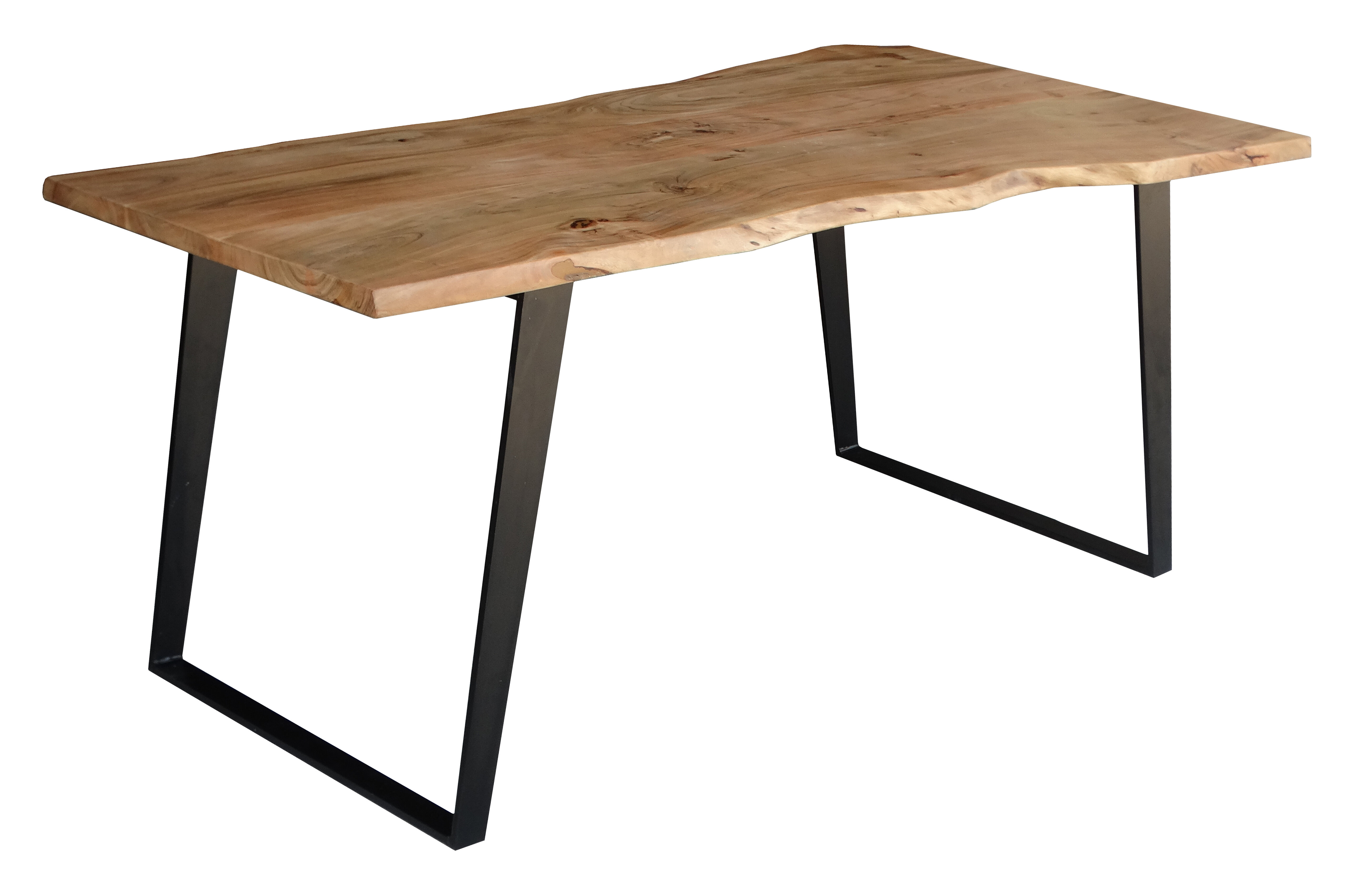 Millwood pines emmeline solid wood live edge dining table reviews wayfair
