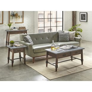 Millwood Pines St Andrews 3 Piece Coffee Table Set