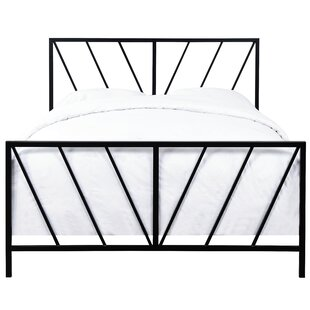 Aleksei Reese Patterned Queen Standard Bed