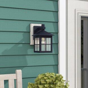 Millwood Pines Wyant 1-Light Outdoor Wall Lantern
