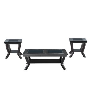 Alcott Hill 3 Piece Coffee Table Set
