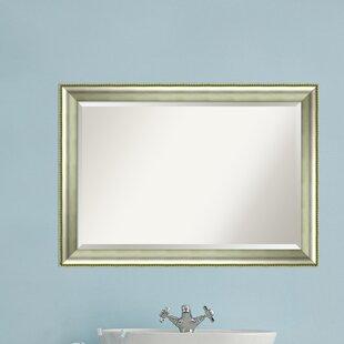 House of Hampton Curve Bathroom/Vanity Mirror