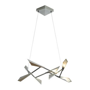 Hubbardton Forge Quill 8-Light LED Pendant