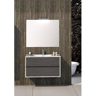 Dulaney Bathroom 1200mm Wall Hung Single Vanity Unit By Ebern Designs