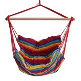 Ramsey Jungle Rainbow Cotton Swing Hammock