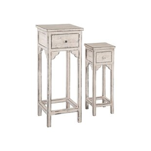 Rader Petite 2 Piece Nesting Tables by August Grove Amazing