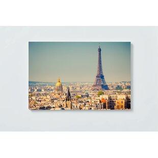 Paris Eiffel Magnetic Wall Mounted Cork Board By Ebern Designs