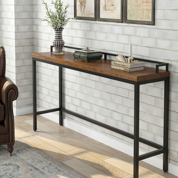 17 Stories Patillo 70 86 Solid Wood Console Table Reviews Wayfair