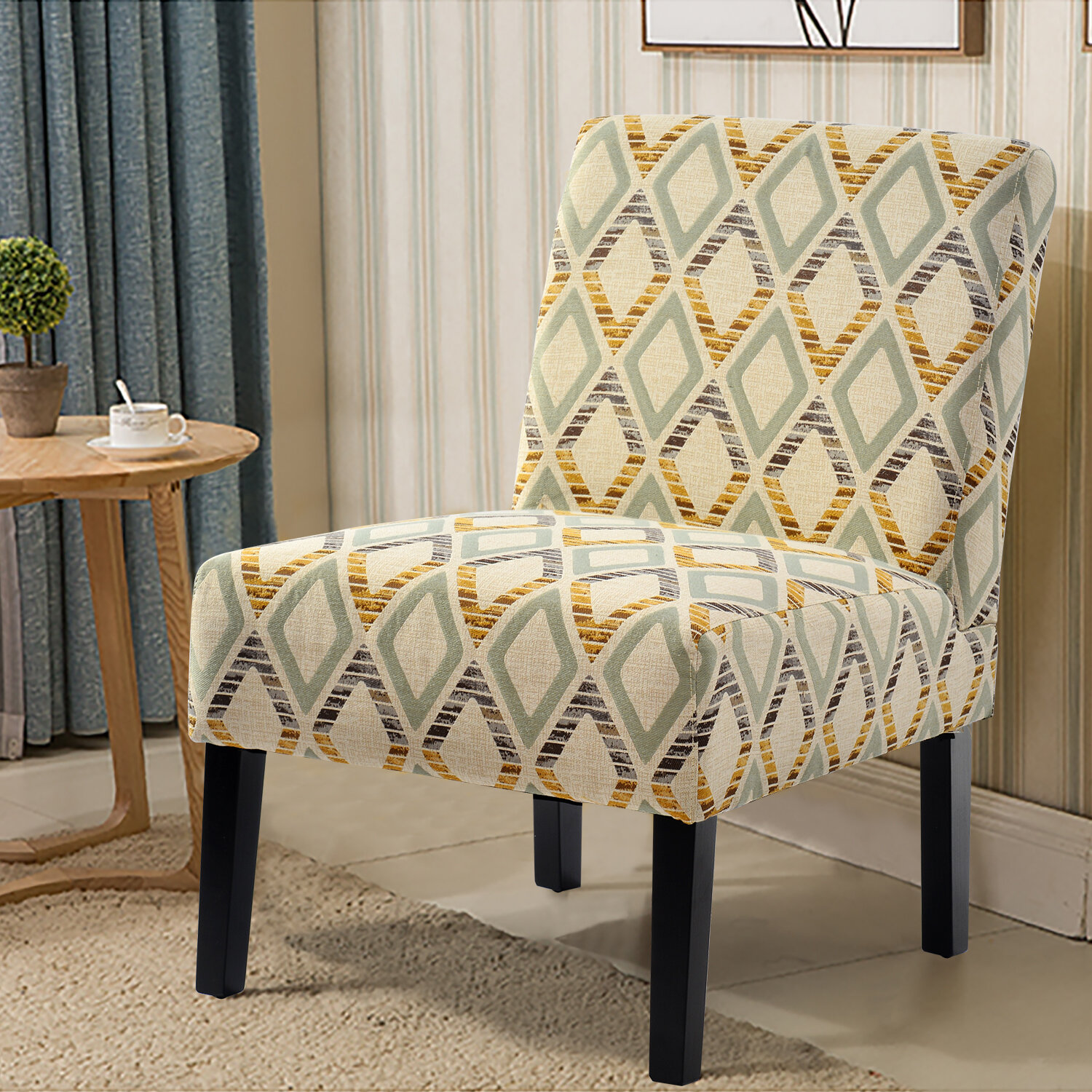 Winston Porter Rochester Slipper Chair Reviews Wayfair