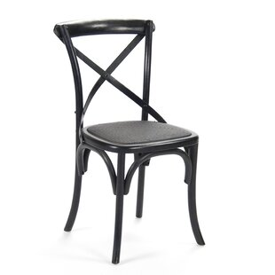 Parisienne Cafe Solid Wood Dining Chair Zentique