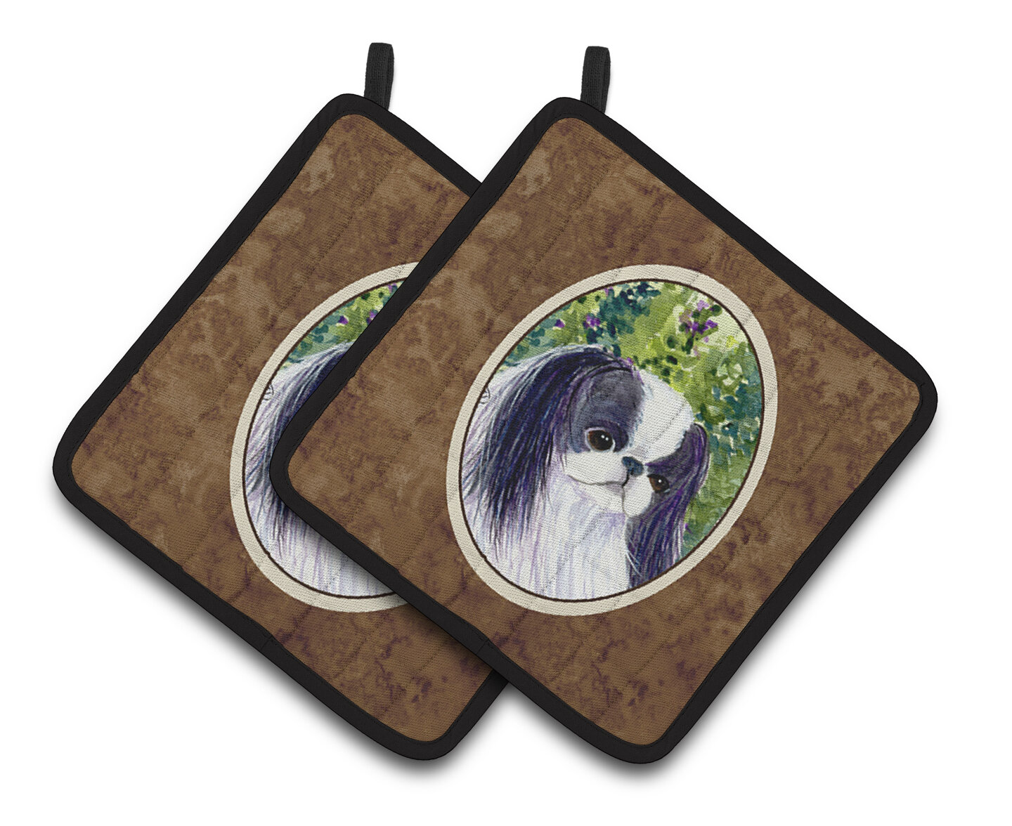 East Urban Home Japanese Chin Potholder Wayfair