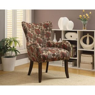 Comparison Cinna Fabric Wingback Chair by Latitude Run Reviews (2019) & Buyer's Guide