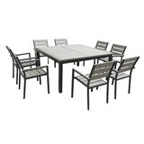 Brightling Square 9 Piece Dining Set