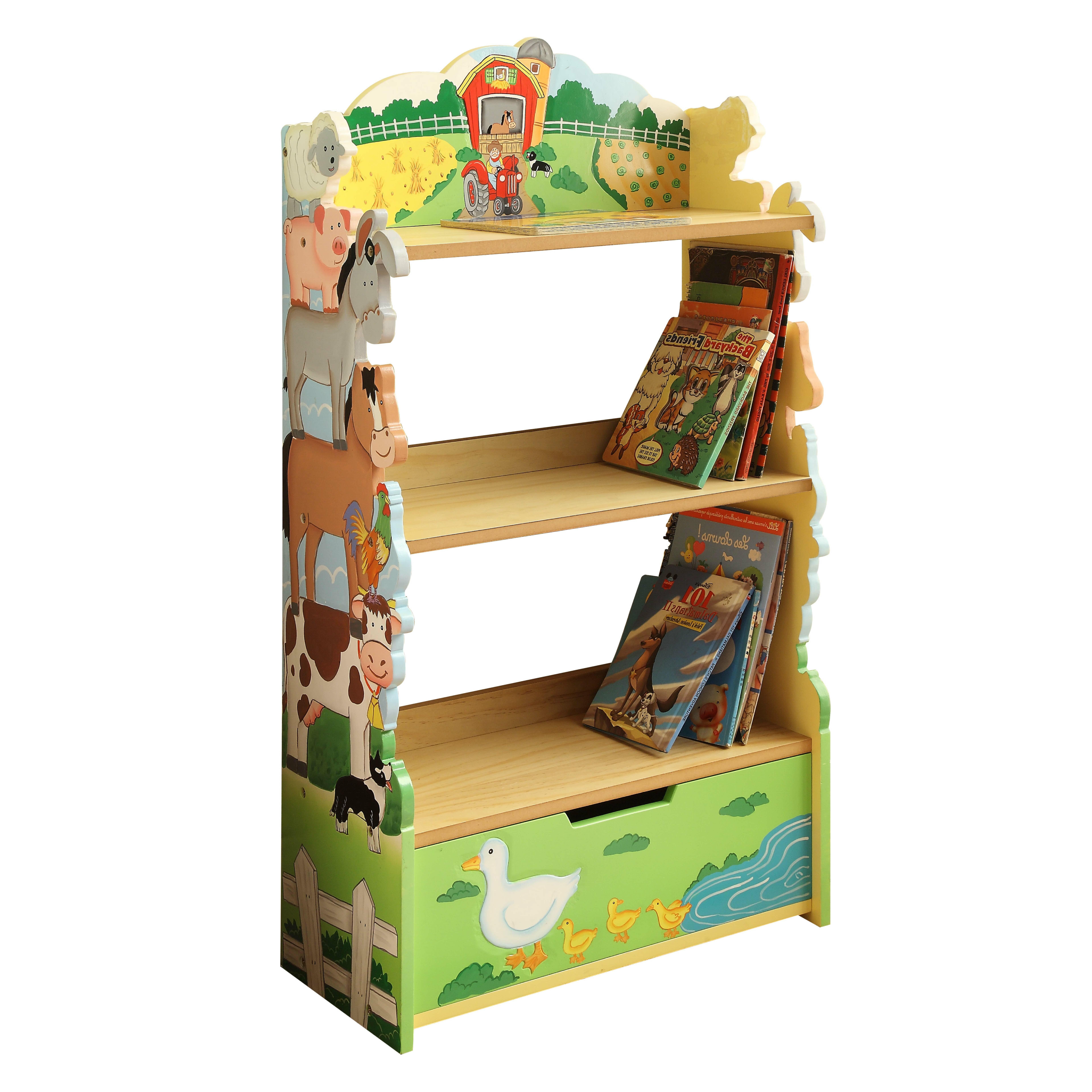 Baby Kids Bookcases And Bookshelves You Ll Love In 2019