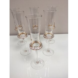 Piedmonte 220ml Champagne Flute (Set of 6) by Astoria Grand