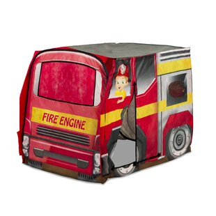 Playhut Vehicle Fire Engine Play Tent