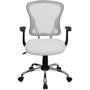 White Furry Desk Chair Wayfair