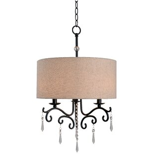 Wildon Home ® Esley 3-Light Chandelier