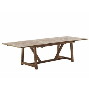 Storey Extendable Solid Wood Dining Table