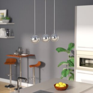 Seo 3-Light LED Pendant by Orren Ellis